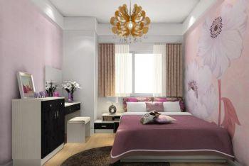 2015最新卧室清新搭配设计效果图欣赏现代卧室装修图片