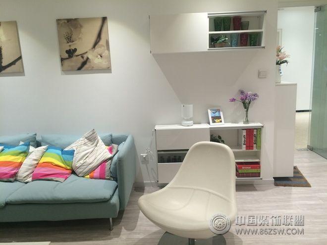 70平简约居小户型装修案例-客厅装修图片