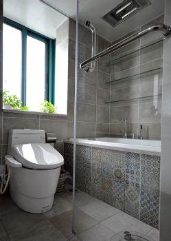 巧妙规整卫生间设计现代卫生间装修图片