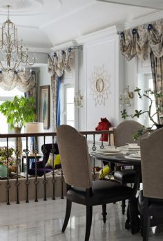 320平中式欧式装修效果图中式餐厅装修图片