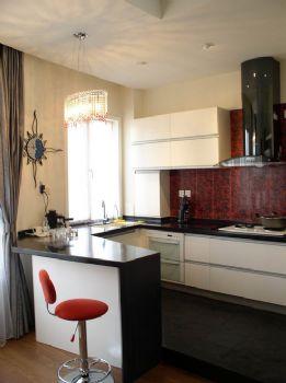 115平三居现代装修效果图现代厨房装修图片