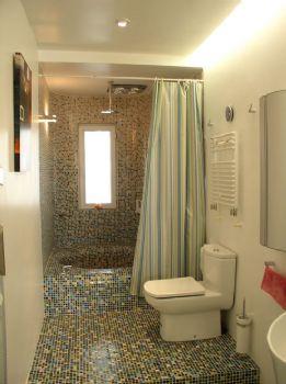 115平三居现代装修效果图现代卫生间装修图片