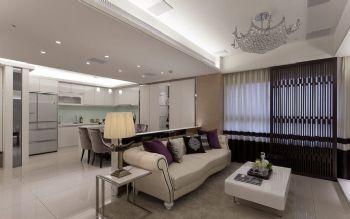 85平韩式风格装修图片客厅装修图片