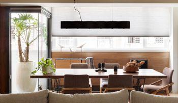 135平现代简约风格效果图现代餐厅装修图片