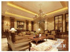 欧香小镇欧式风格案例欣赏2欧式客厅装修图片