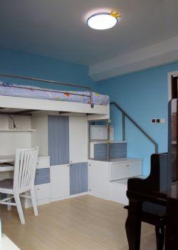 78平北欧雅居装修效果图欧式书房装修图片