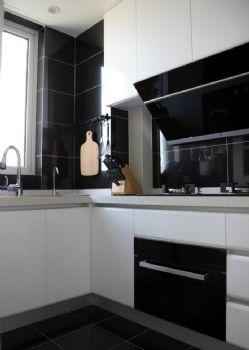 78平北欧雅居装修效果图欧式厨房装修图片