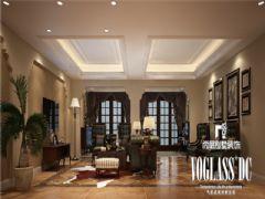 三利宅院福邸美式风格装修案例美式风格别墅