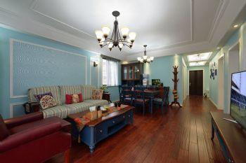 138平地中海风格装修案例客厅装修图片