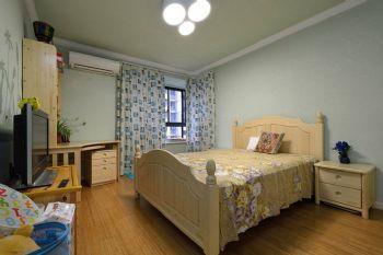 138平地中海风格装修案例卧室装修图片