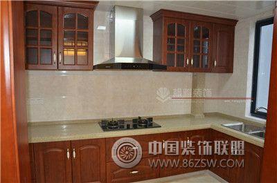 阳山花苑中式风格完工实拍图 厨房装修效果图 八六 中国 装饰联盟装修