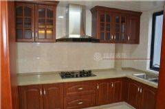阳山花苑中式风格完工实拍图中式厨房装修图片