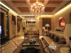 水沐天城新古典风格案例欣赏古典客厅装修图片