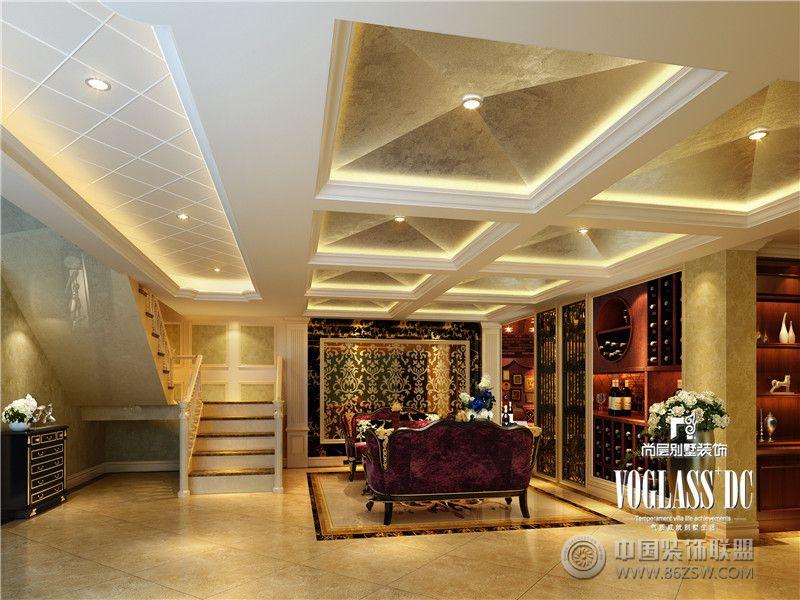 天合凯旋南城欧式风格案例-阁楼装修效果图-八六