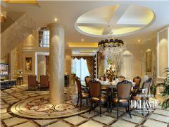 天合凯旋南城欧式风格案例欧式客厅装修图片