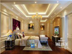 天合凯旋南城欧式风格案例欧式卧室装修图片
