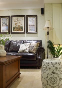 122平古典混搭设计图片客厅装修图片