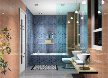 整体布局设计卫生间效果图