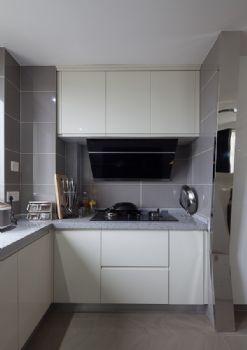 115平现代简约装修效果图现代厨房装修图片