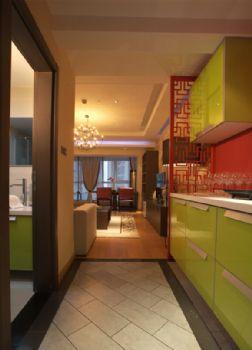 160中式风格演绎完美家居中式过道装修图片