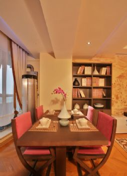 160中式风格演绎完美家居中式餐厅装修图片