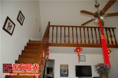 中式风格打造四合院装修美好风光中式客厅装修图片