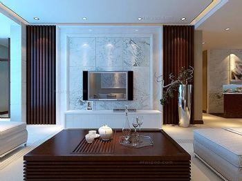 黑白电视背景墙设计图客厅装修图片