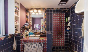 100平超级混搭三居装修设计图混搭卫生间装修图片