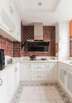 100平超级混搭三居装修设计图混搭厨房装修图片