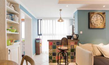 100平超级混搭三居装修设计图混搭客厅装修图片