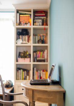 100平超级混搭三居装修设计图混搭书房装修图片