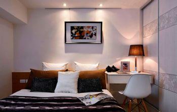 96平简约实木演绎现代装修图片简约卧室装修图片