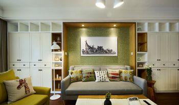 88平简约美式装修效果图卧室装修图片