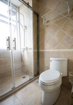 135平美式田园设计图片卫生间装修图片