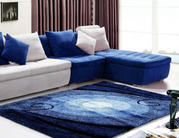 地毯与家居搭配解决方案田园客厅装修图片