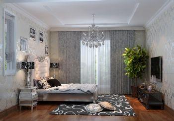 133平三居欧式古典风装修图片欧式卧室装修图片