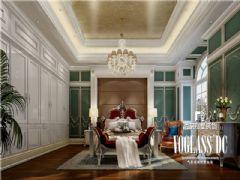 雅居乐独栋法式宫廷设计图美式卧室装修图片