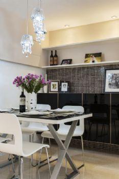 82平简约都市生活家装案例地中海餐厅装修图片