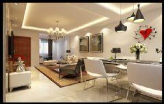 南门望城86平2居现代风设计图片简约客厅装修图片