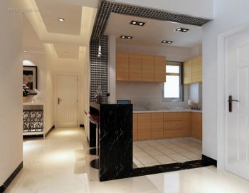 设计个性化厨房吧台设计图片