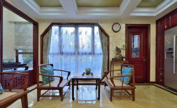 142平中式风格三居装修效果图中式其它装修图片