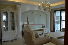 保利居上120平欧美风情完工图欧式风格三居室