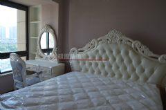 保利居上120平欧美风情完工图欧式卧室装修图片