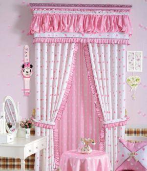 田园风窗帘温馨设计方案田园卧室装修图片