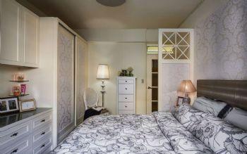 125平美式风格装修效果图美式卧室装修图片