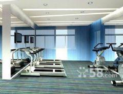 郑州专业健身房装修设计效果图健身房装修图片