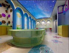 郑州专业婴儿游泳馆装修设计会所装修图片