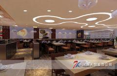 2015郑州专业自助餐装修设计餐馆装修图片