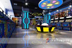 郑州专业动漫城混搭装修设计专卖店装修图片
