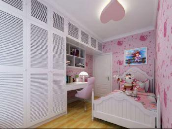 165平四居演绎新简约主义效果图简约儿童房装修图片